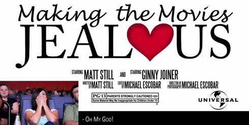 Trailer credit for Matt Still's theater proposal to Ginny Joiner.