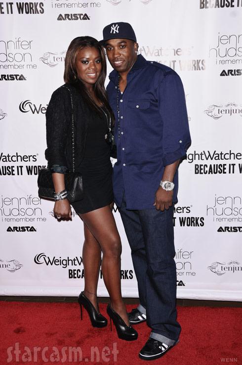 Meeka Claxton with husband Speedy Claxton in March 2011