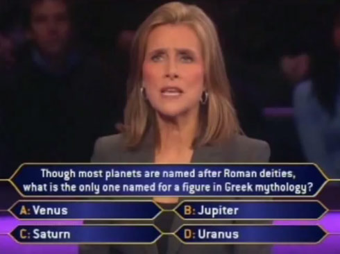 Video Millionaire Blooper Involving Meredith Viera And Uranus Starcasm Net