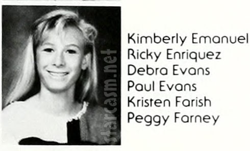 1986 photo of Peggy Tanous when she was Peggy Farney at Foothill High School