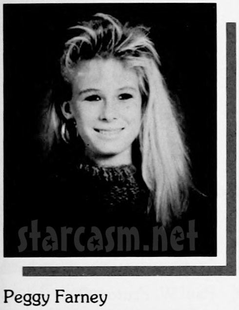 Peggy Tanous high school yearbook photo