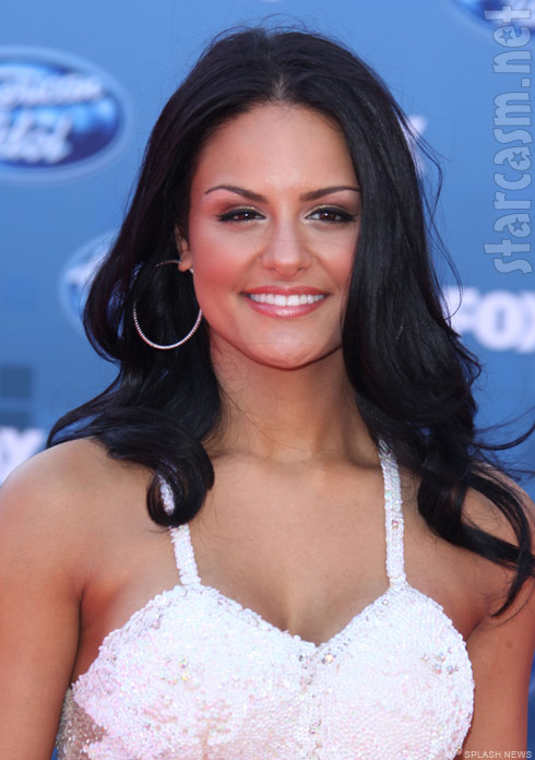 Pia Toscano at the American Idol Season 10 finale