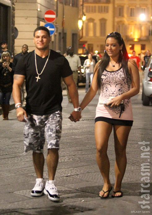 Jersey Shore's Ronnie Magro and Sammi Giancola appear to be back together