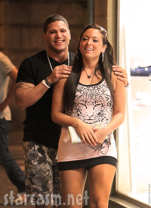 Ronnie Magro and Sammi Sweetheart Giancola appear to be back together in Italy