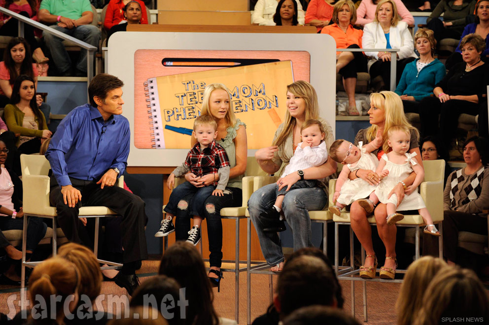 Leah Messer Kailyn Lowry and Maci Bookout on The Dr. Oz Show