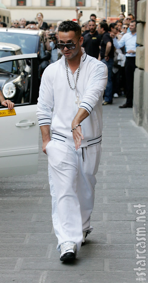 Jersey Shore's The Situation arrives in Florence Italy