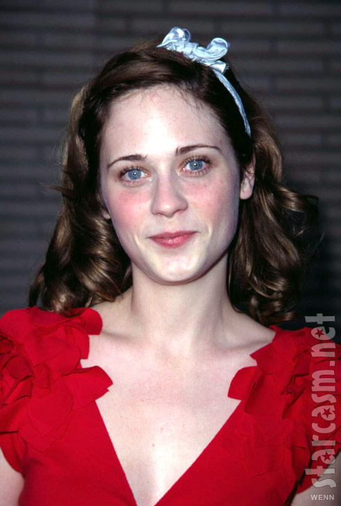 21-year-old Zooey Deschanel promoting Kiehl's products in 2001
