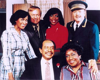 The cast of the Jeffersons