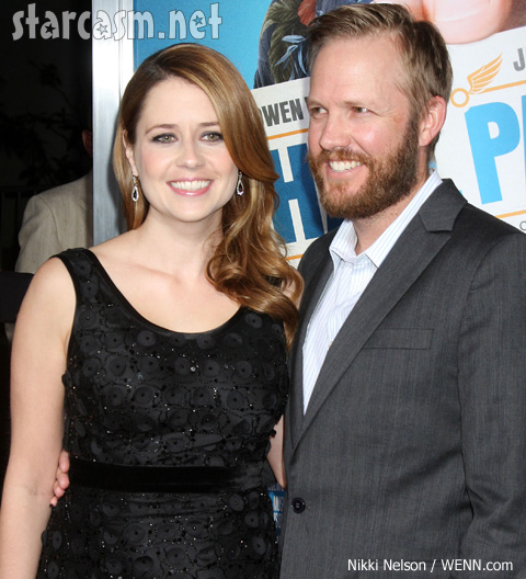 Jenna Fischer pregnant with husband Lee Kirk's baby