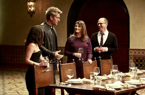 Top Chef Masters Season 3 Curtis Stone Gail Simmons James Oseland