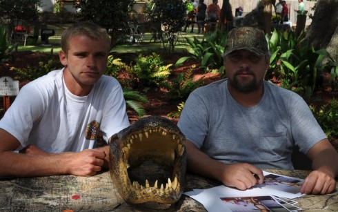 Swamp People's Willie Edwards and his dad Junior Edwards