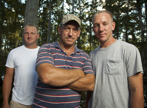 Swamp People Troy Landry Clint Landry Jacob Landry