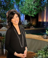 Host Julie Chen at the Big Brother 13 house