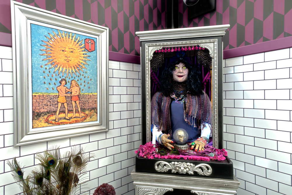 Big Brother 13 has a Venice Beach theme complete with tarot card reader