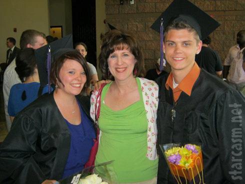Catelynn Lowell and Tyler Balterierra graduate high school