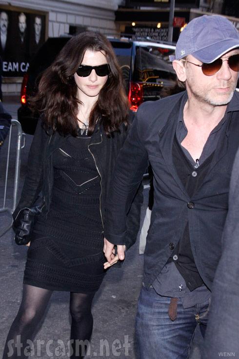 Daniel Craig and girlfriend Rachel Weisz together before their secret wedding June 23, 2011