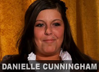 Danielle Cunningham from 16 and Pregnant Season 3