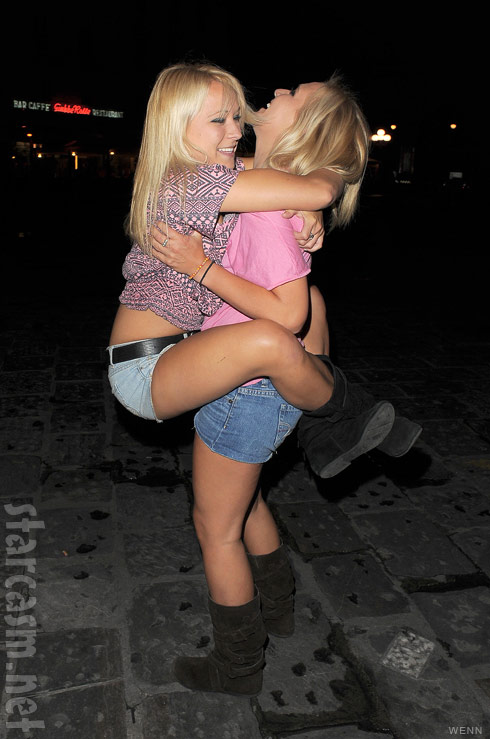University of Florida twins and rumored girlfriends of The Situation Brittany and Erica Taltos