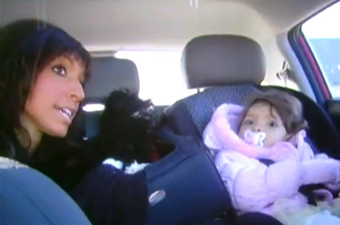 Farrah Abraham and daughter Sophia from the Teen Mom Season 3 preview commercial
