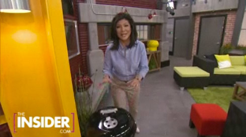 Screen grab from the Julie Chen Big Brother 13 house tour