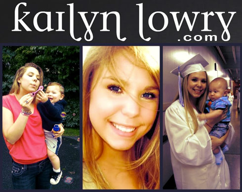 Teen Mom Kailyn Lowry launches web site KailynLowry.com