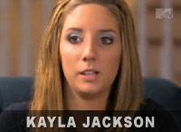 Kayla Jackson from 16 and Pregnant Season 3