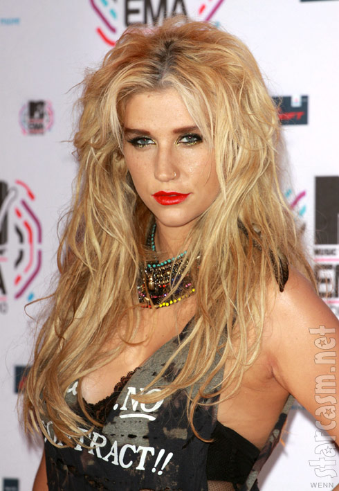 Ke$ha at the 2010 MTV Europe Music Awards