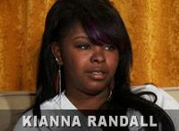 Kianna Randall from 16 and Pregnant Season 3