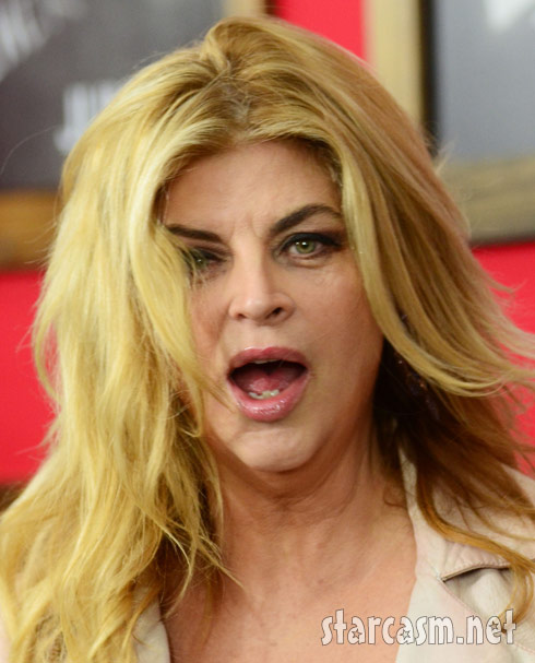 Kirstie Alley premiere of Bad Teacher