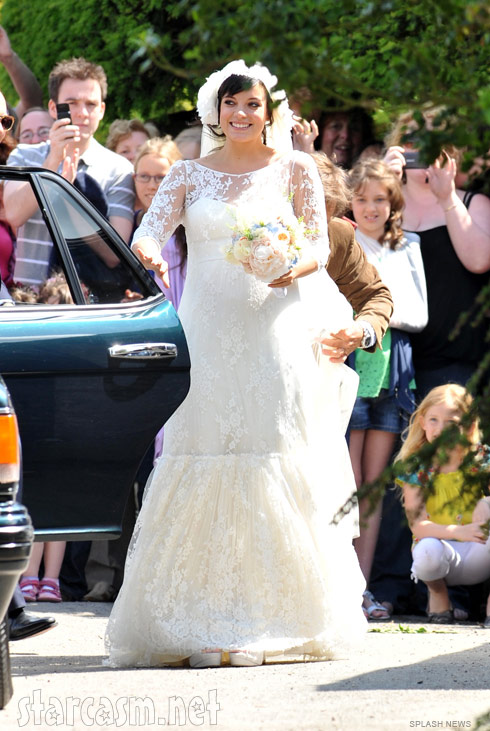 Sam Cooper And Lily Allen Wedding Photos Starcasm Net