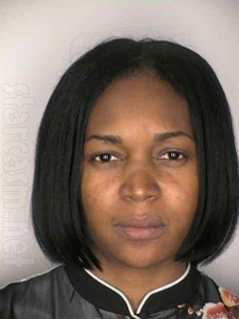 Booking photo for Marlo Hampton after she violated her parole on July 28, 2003