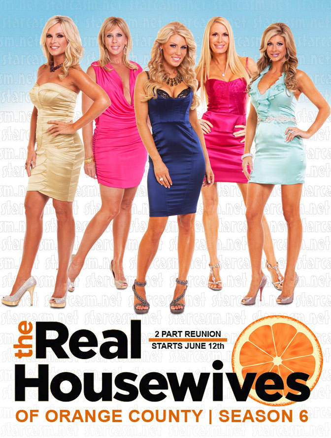 Real Housewives of Orange County cast photo from Season 6