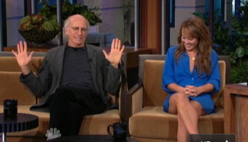 Larry David angry at Bentley Williams