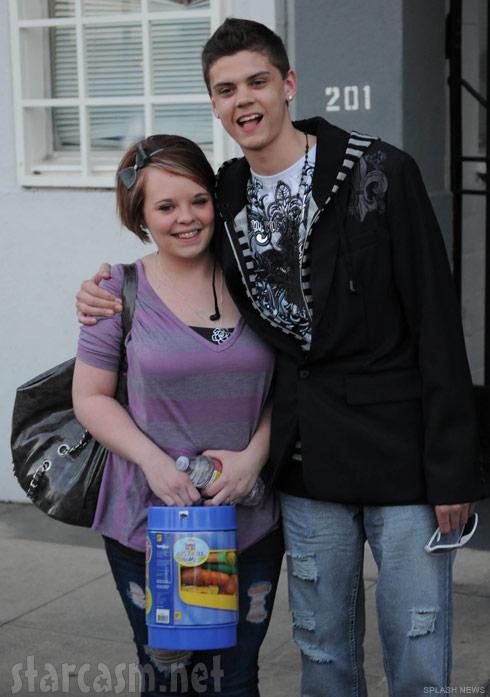 Teen Mom Catelynn Lowell and Tyler Baltierra in California