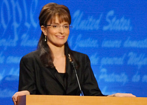Photo of Tina Fey as Sarah Palin on SNL used by Fox News for Palin story