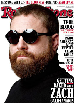 Galifianakis covers Rolling Stone for June 17, 2011 issue