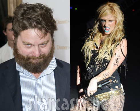 Zach Galifianakis is not interested in Ke$ha romantically