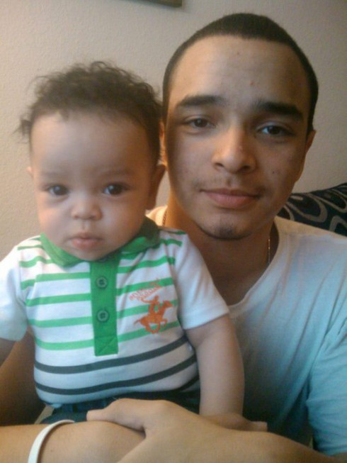 Zak Hegab and son Kay'Den from 16 and Pregnant