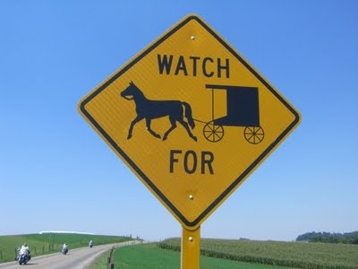 Watch for buggies sign takes on an ominous new meaning