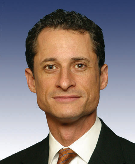 Brooklyn Democratic Congressman Anthony Weiner