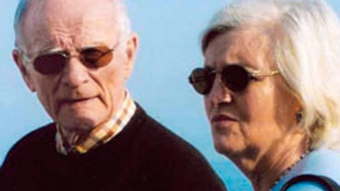 FBI fugitive Whitey Bulger and girlfriend Catherine Grieg in Italy in 2007