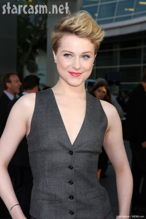 Bad ass new hair Evan Rachel Wood true blood blond