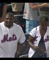 Mets fans react to walk off balk by DJ Carrasco