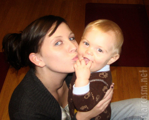 16 and Pregnant's Aubrey Akerill with son Austin