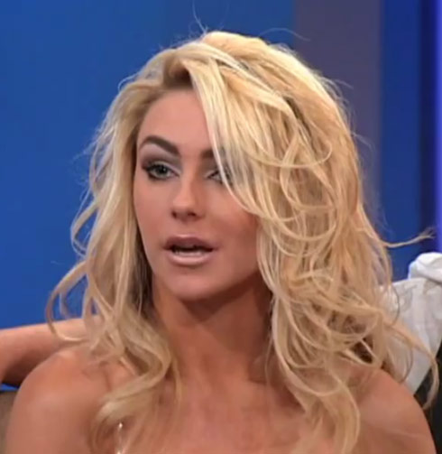 Courtney Stodden on the Father Albert show