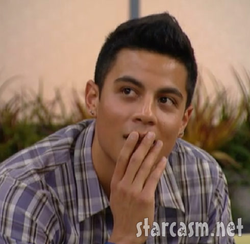 Big Bother 13's Dominic Briones from episode 1