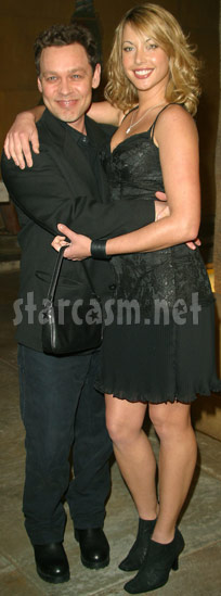 Doug Hutchison with his wife before Courtney Stodden