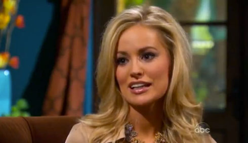 Emily Maynard interview with Chris Harrison discussing her break up with Brad Womack