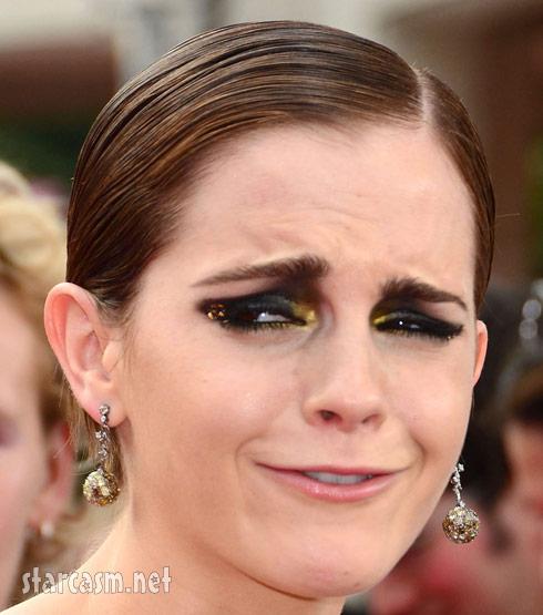 Emma Watson at the Harry Potter final film premiere