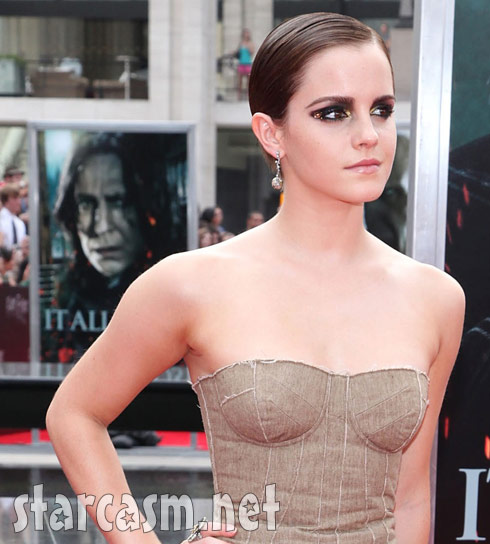Emma Watson cropped image without fashion fail gown